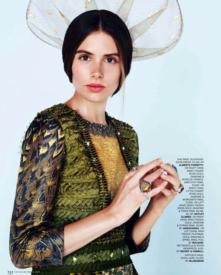 Genevieve Gaunt Smile Genevieve Gaunt in Tatler UK October 2014 by Sevda Albers