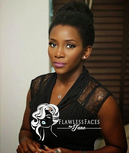 Genevieve Nnaji Genevieve Nnaji Wears MUD Nigeria Makeup Line Nollywood