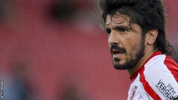 Gennaro Gattuso BBC Sport Gennaro Gattuso sacked as FC Sion manager