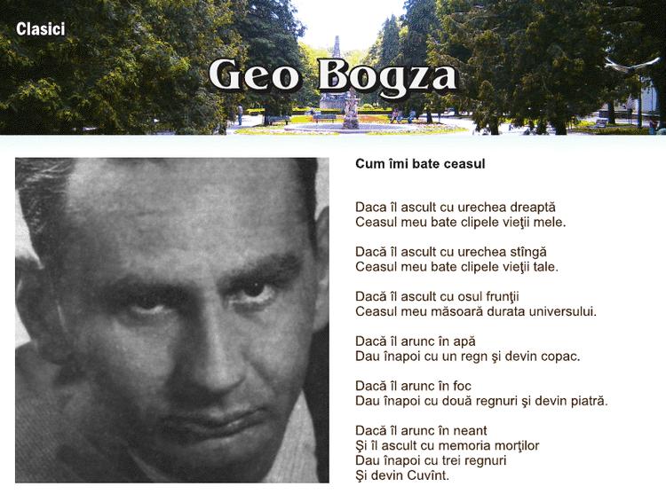 Geo Bogza - Alchetron, The Free Social Encyclopedia