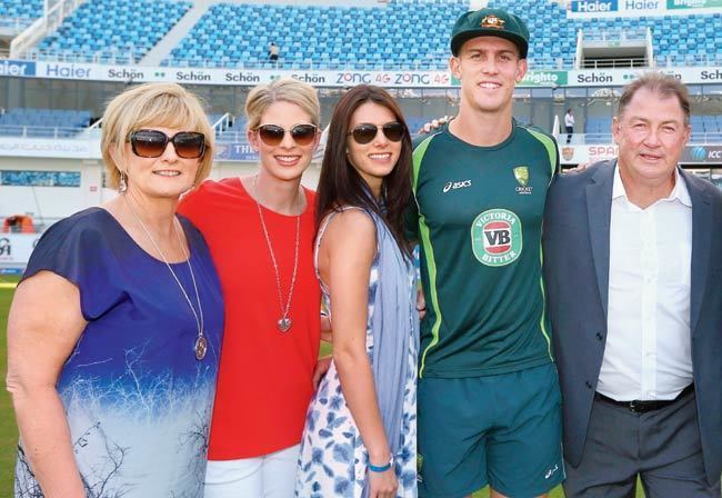 Geoff Marsh (Cricketer) family