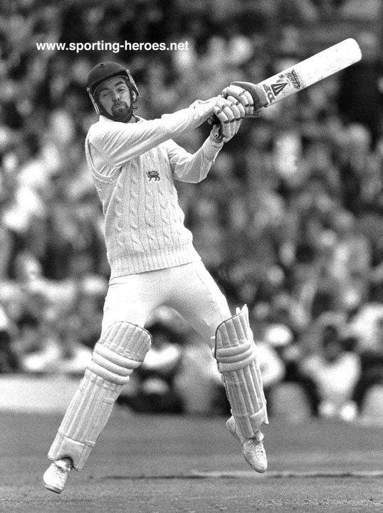 Geoff Miller Test Profile 197684 England