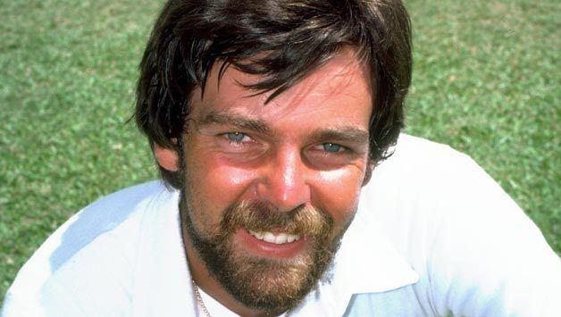 Geoff Miller (Cricketer) playing cricket