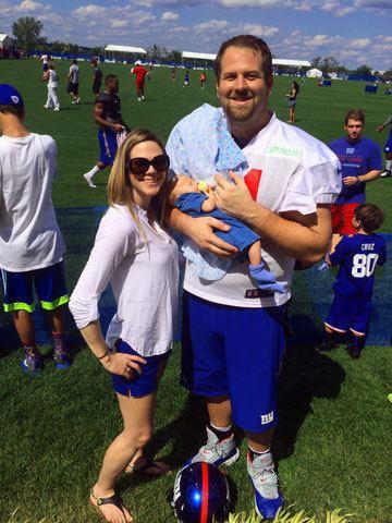 Geoff Schwartz New York Giants guard Geoff Schwartz and on NFL life and marriage