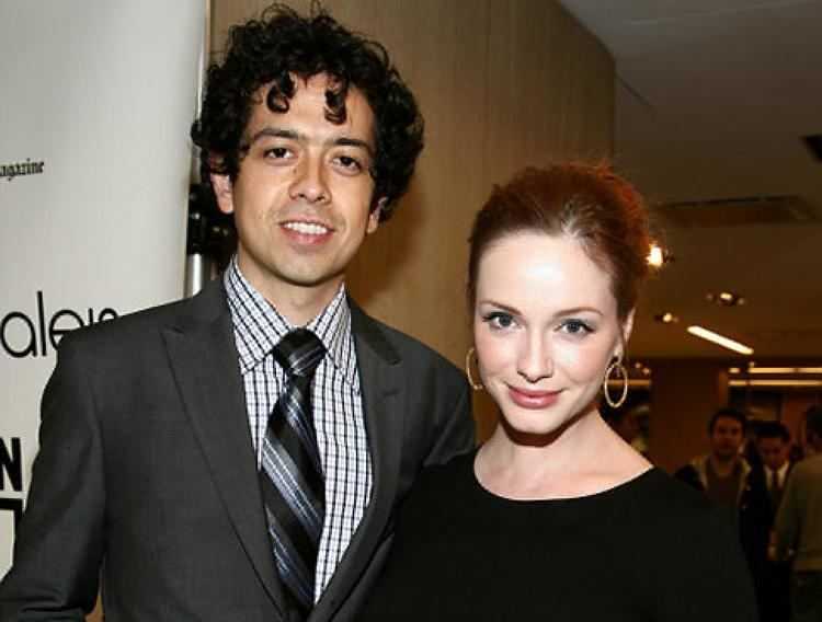 Geoffrey Arend Mad Men39 star Christina Hendricks marries Geoffrey Arend