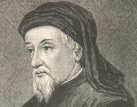Geoffrey Chaucer July 12 1389 Geoffrey Chaucer named chief clerk by Richard
