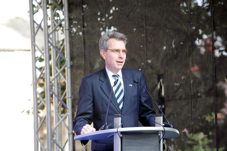 Geoffrey R. Pyatt FileBIONIC University Opening Ceremony US Ambassador to
