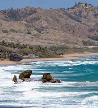 Geography of Barbados wwwworldatlascomwebimagecountrysnamericacari