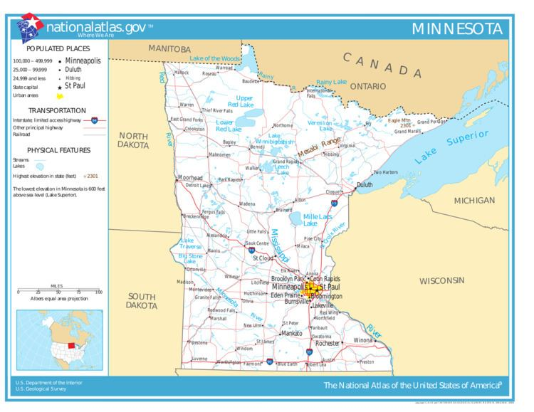 Geography of Minnesota