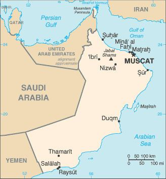 Geography of Oman
