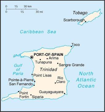 Geography of Trinidad and Tobago