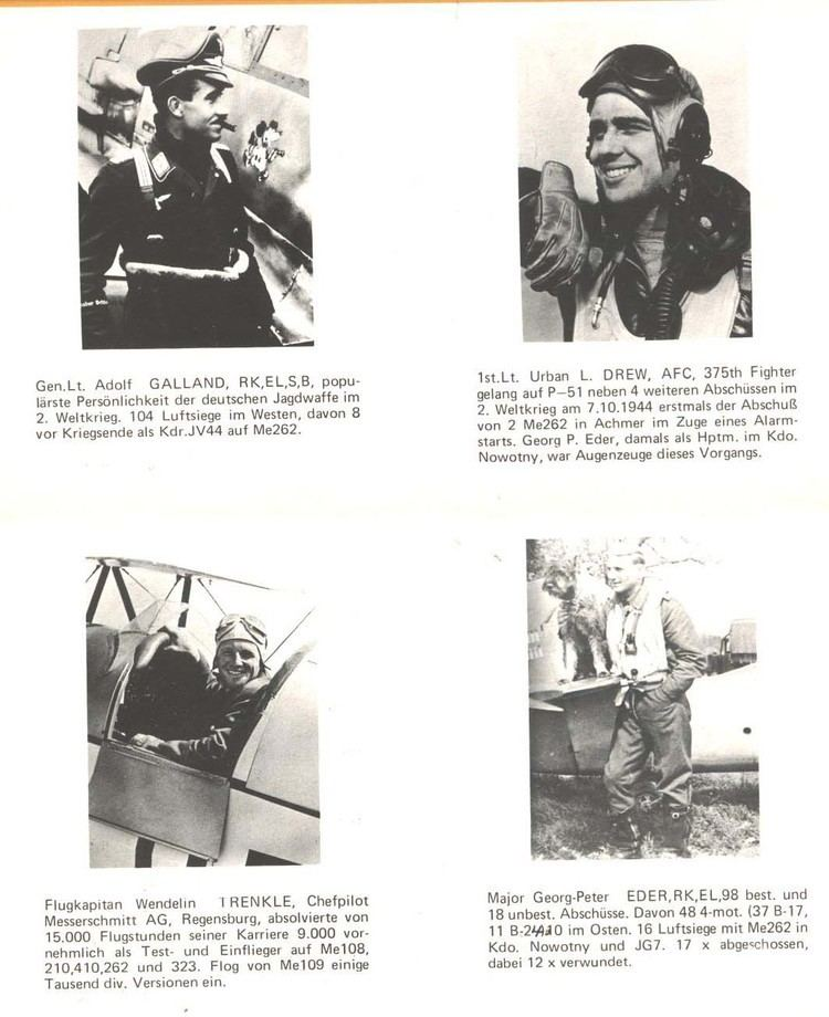 Georg-Peter Eder Military Autographs