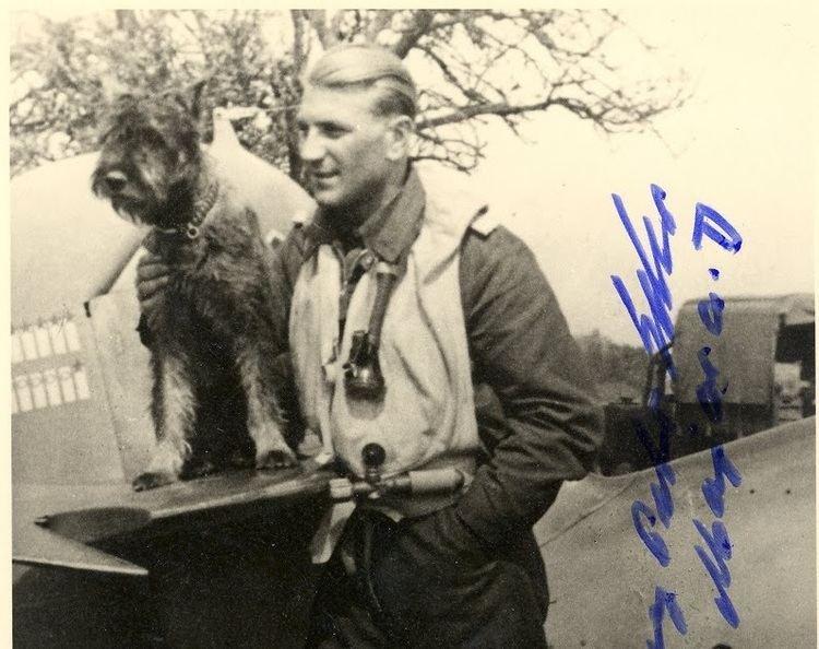 Georg-Peter Eder NAZI JERMAN Major GeorgPeter Eder 19211986 Pilot Tempur Yang