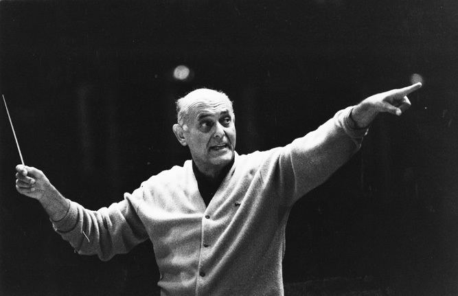 Georg Solti Sir Georg Solti And The Chicago Symphony Open The 19771978 Season