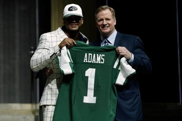 George Adams (American football) Jets draft Jamal Adams son of former Lafayette and Kentucky