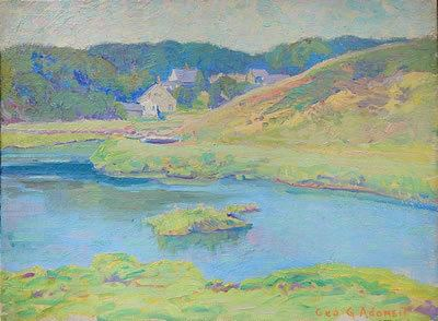 George Adomeit George Gustav Adomeit Artist Fine Art Prices Auction Records for
