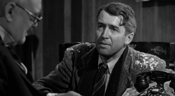 George Bailey (It's a Wonderful Life) Givin39 Out Wings 2 I39m glad I know you George Bailey It Rains