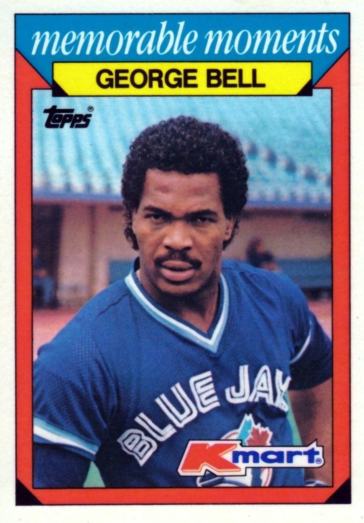 George Bell (outfielder) Random Baseball Card 1079 commemoration of Toronto Blue