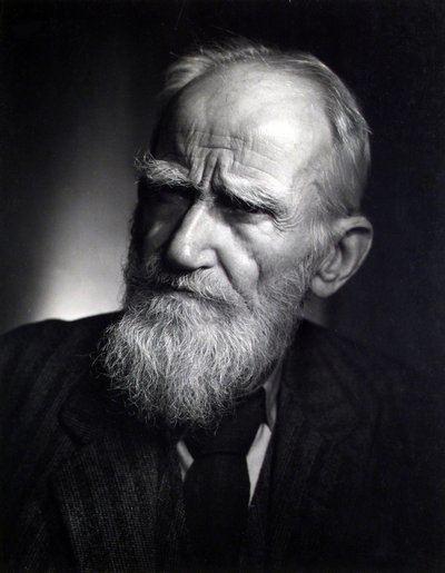 George Bernard Shaw George Bernard Shaw about Papal infallibility Dover Beach