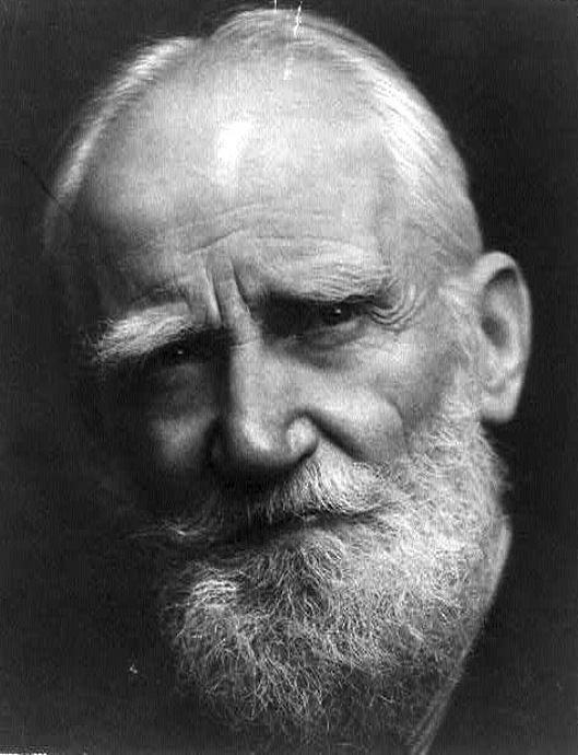 George Bernard Shaw George Bernard Shaw39s Warning from History The Contrary