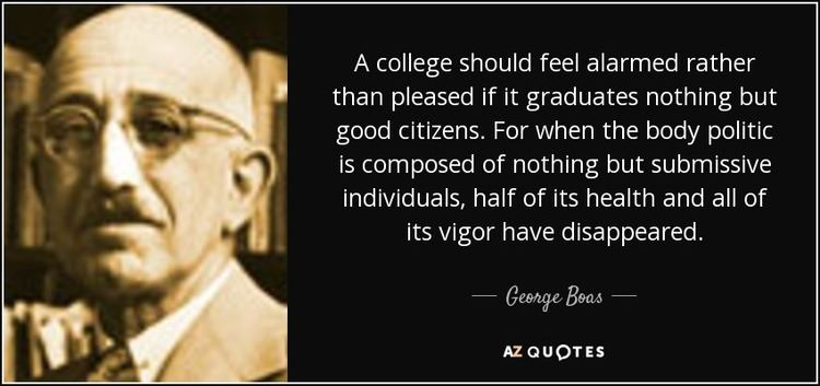 George Boas QUOTES BY GEORGE BOAS AZ Quotes