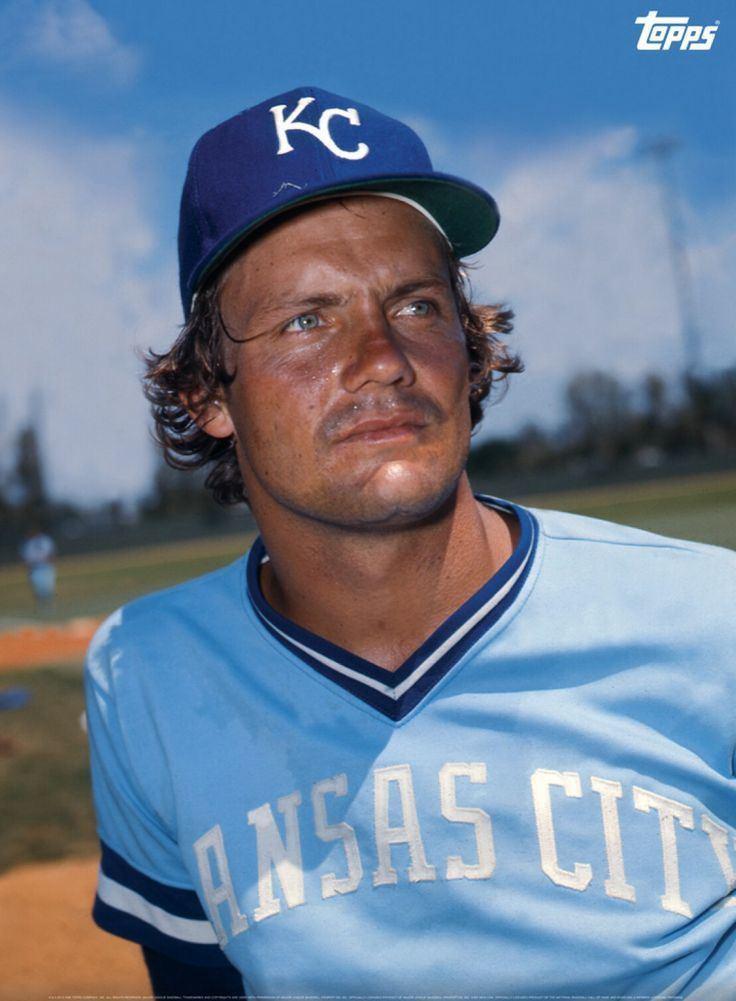 George Brett George Brett Kansas City Royals Baseball Pinterest