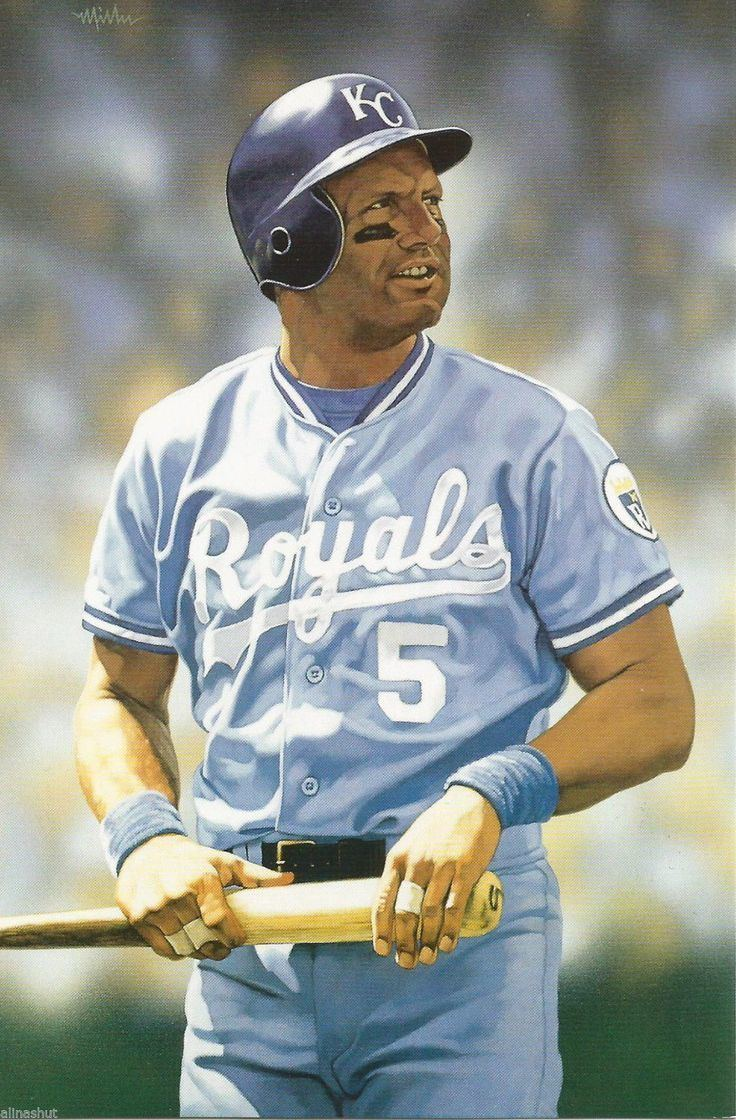 George Brett My favorite baseball player of all timeGeorge Brett on