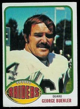 George Buehler wwwfootballcardgallerycom1976Topps495George