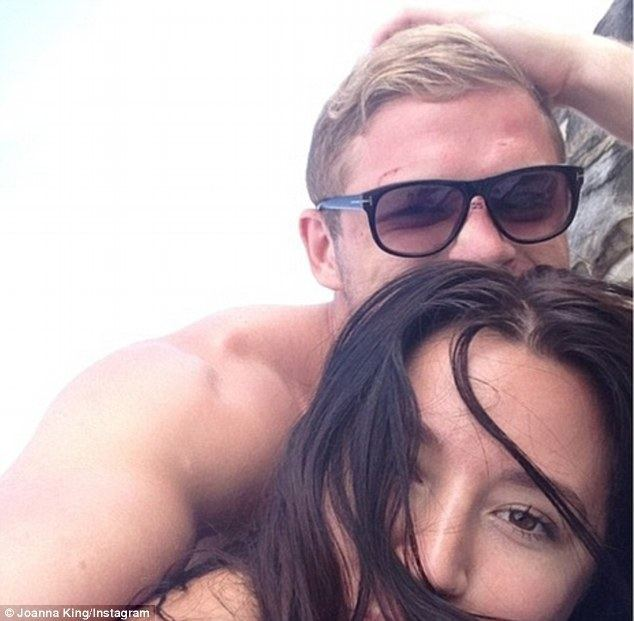 George Burges George Burgess39s new flame Joanna King is a dead ringer