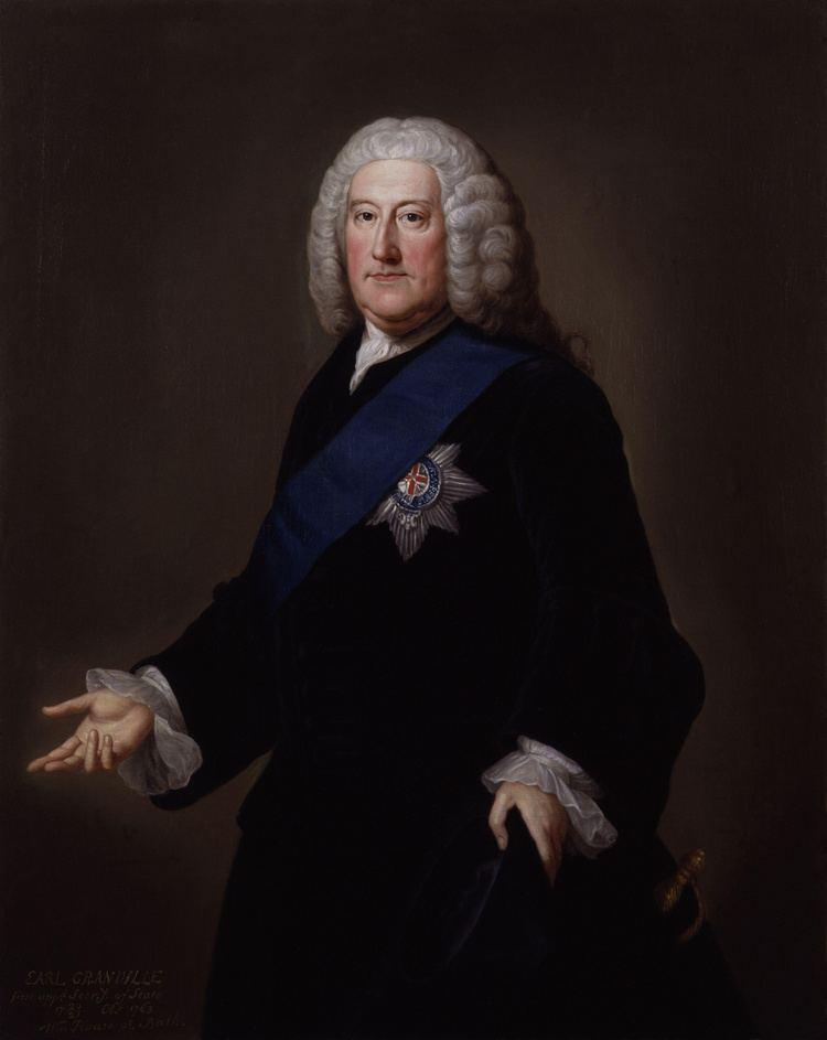 George Carteret John Carteret 2nd Earl Granville Wikipedia the free