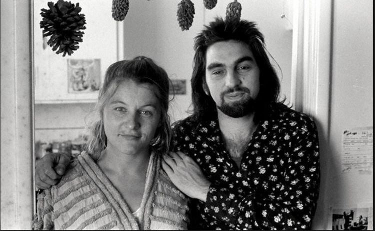 George DiCaprio with his wife Irmelin Indenbirken