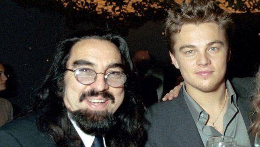 George DiCaprio with his son Leonardo DiCaprio