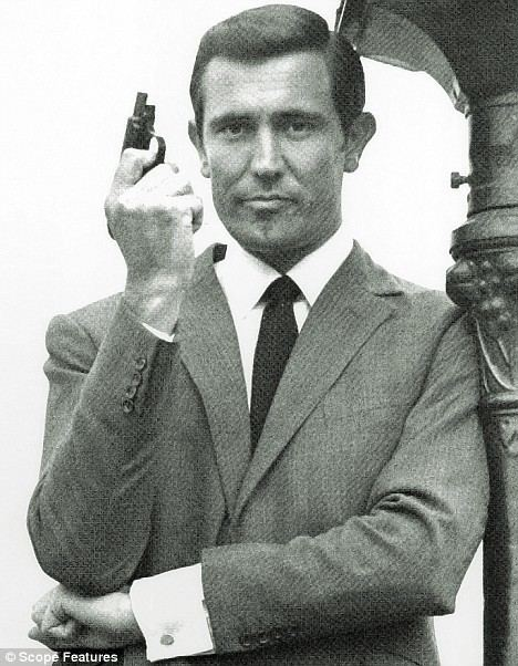 George Lazenby As Bond star George Lazenby and tennis ace Pam Shriver
