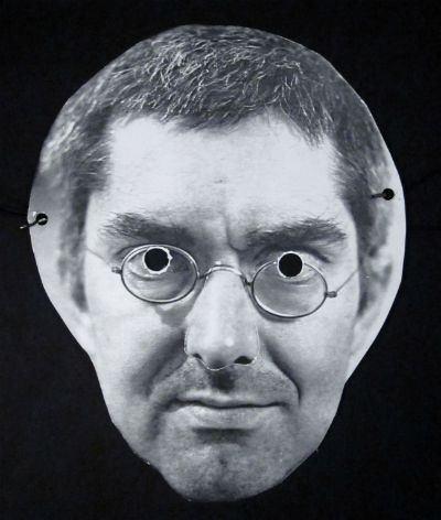 George Maciunas Mask of George Maciunas by Peter Moore 1973 George