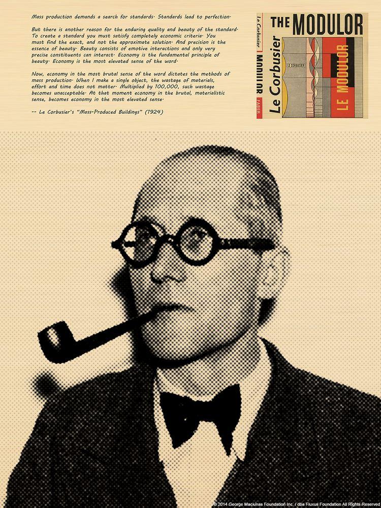 George Maciunas George Maciunas and Le Corbusier George Maciunas