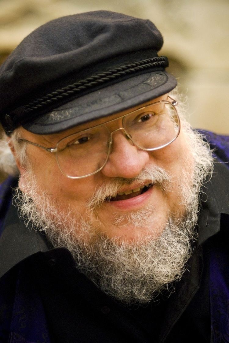 George Martin Author George RR Martin to gift First Edition Hobbit