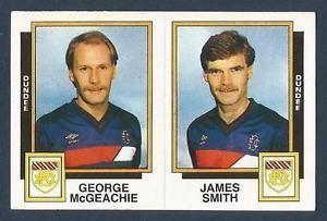 George McGeachie PANINI FOOTBALL 86484ABDUNDEEGEORGE McGEACHIE JAMES SMITH eBay