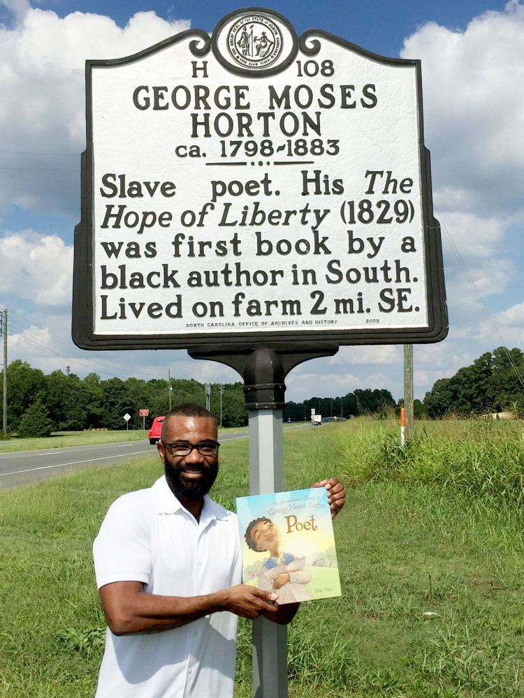 George Moses Horton Don Tate Blog Archive Launch week for POET THE
