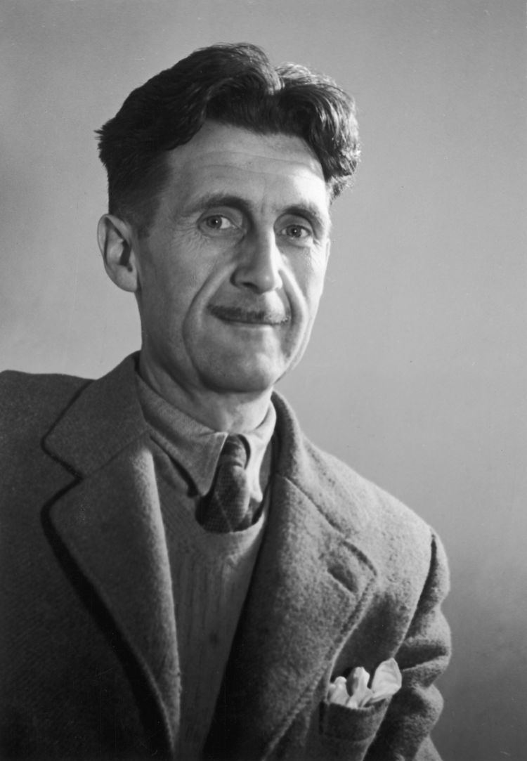 George Orwell Author Profile George Orwell Dystopic