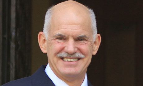 George Papandreou Greece on target to get 8bn rescue aid but more