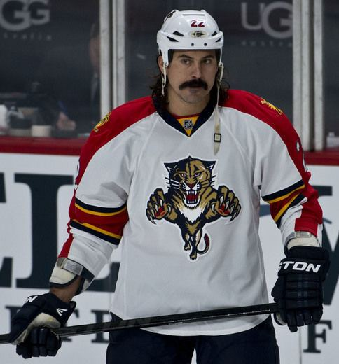 George Parros Florida Panthers forward George Parros happy to put NHL CBA