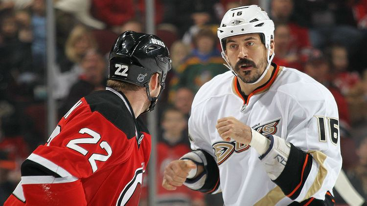 George Parros NHL enforcer George Parros retires NHL Sporting News