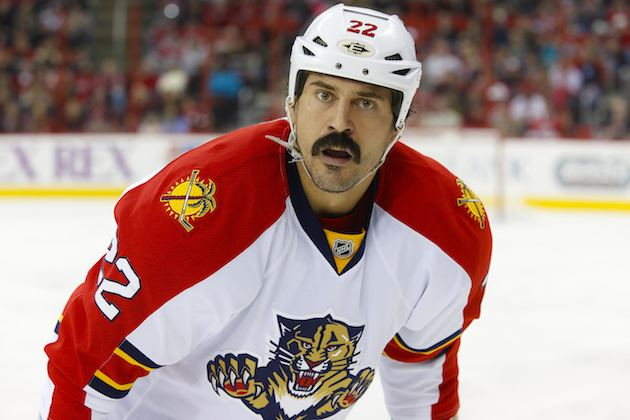 George Parros Canadiens Acquire George Parros From Panthers The Hockey