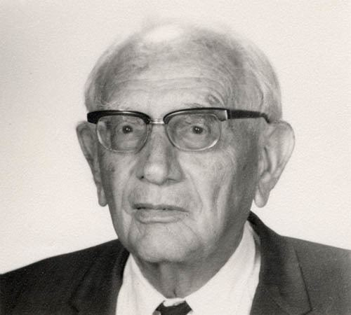 George Polya Photograph of George Plya The Briscoe Center for