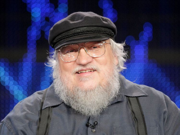 George R. R. Martin Game of Thrones author George RR Martin says 39f you39 to