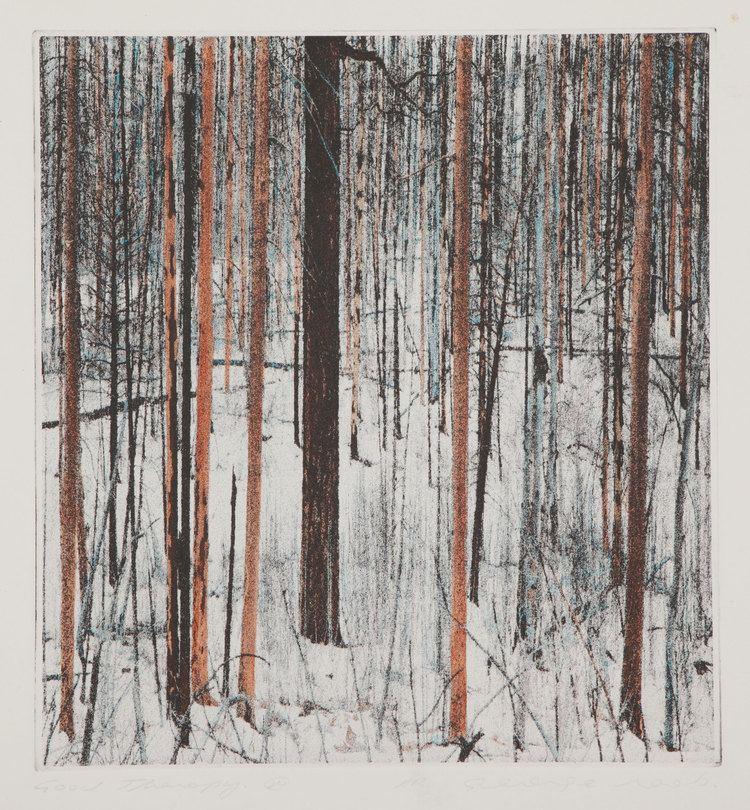 George Raab Into the Woods Etchings by George Raab Art Gallery of Peterborough
