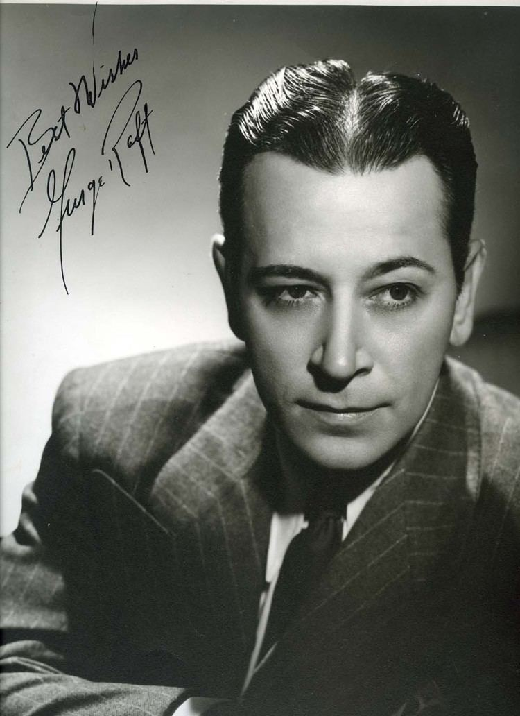 George Raft George Raft Autographed Hurrell Photo Actor Autographs