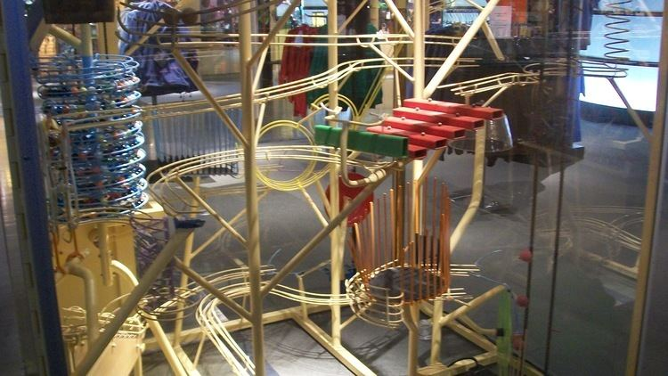 George Rhoads George Rhoads Marble Machine Corning Glass Museum New