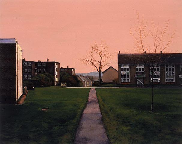 George Shaw (artist) George Shaw 39I Woz Ere39 rachelelizaguthrie
