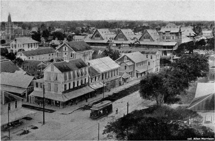 Georgetown, Guyana in the past, History of Georgetown, Guyana